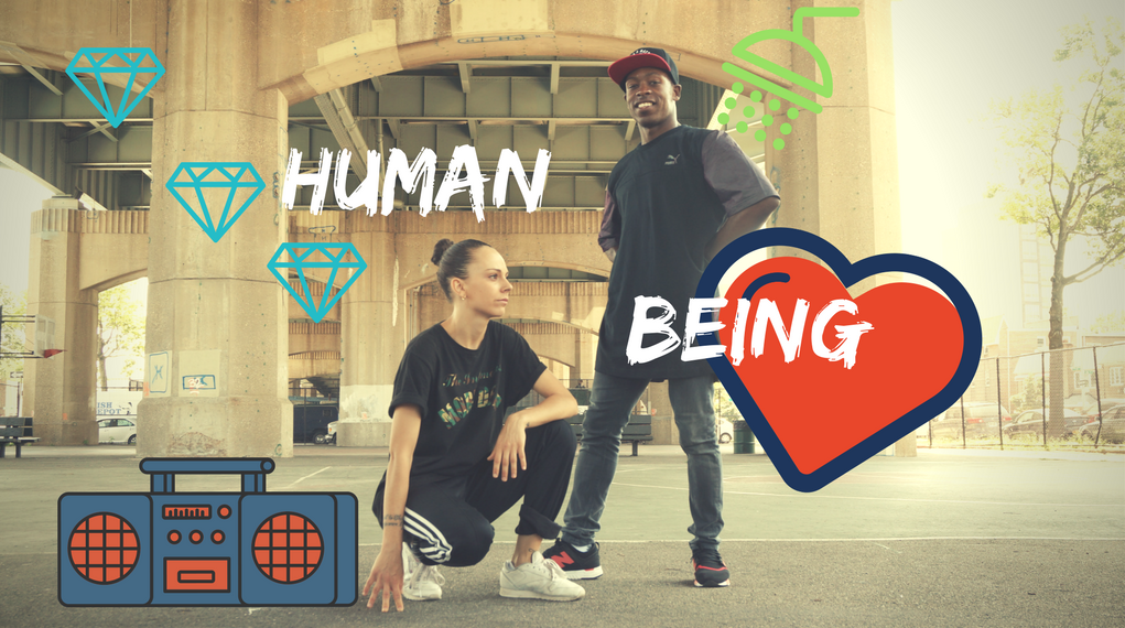 Tinman and Izaskun in Human Being