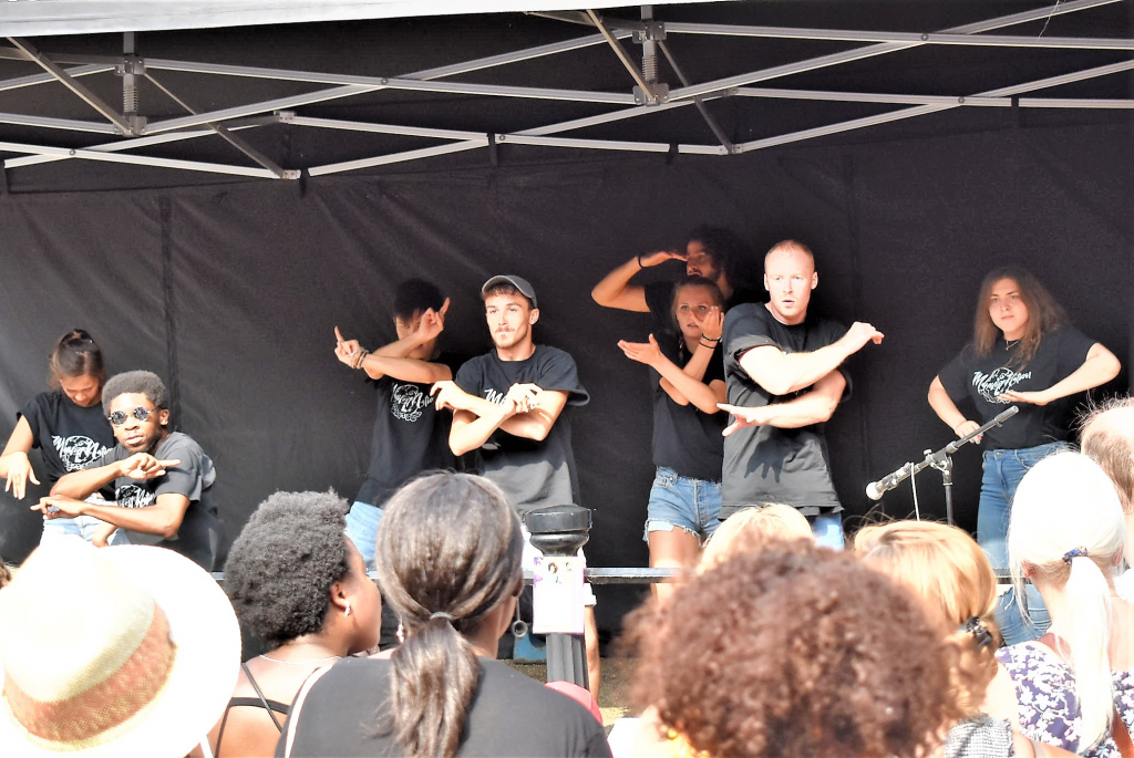 The heat brought at Hampstead Festival