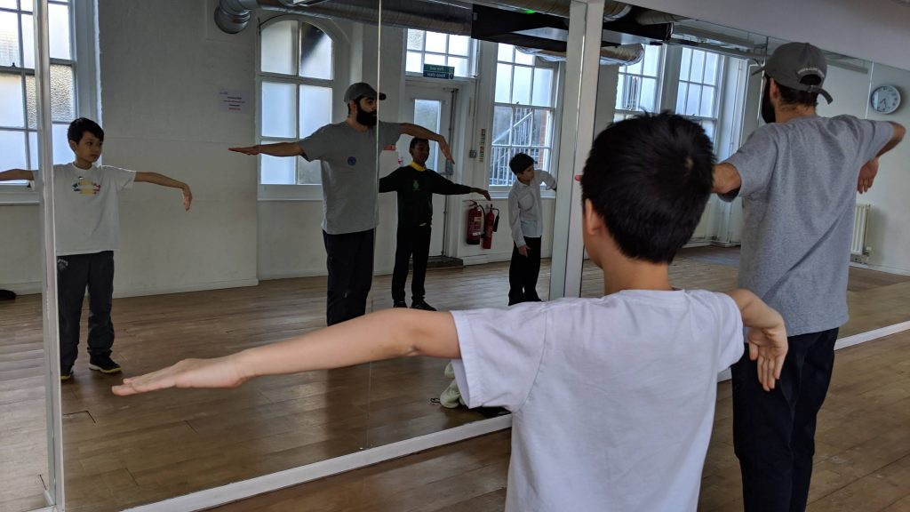 Learning and teaching dance - who's it harder for?