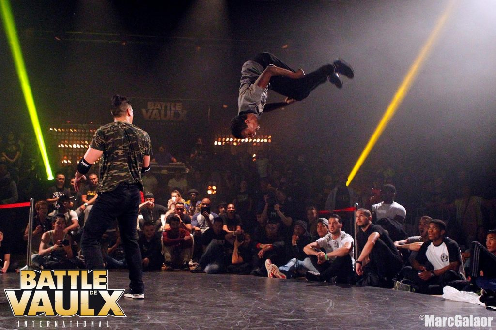 A battle - a common phrase in street dance slang