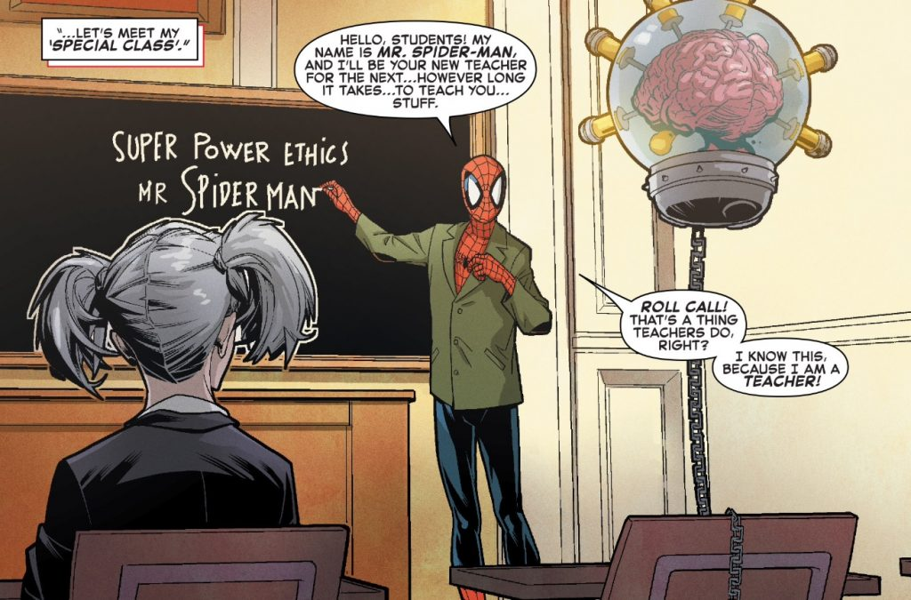 Spiderman knows the importance of learning for your dance career