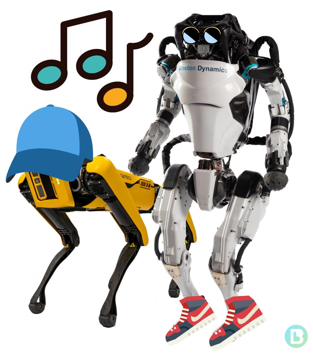 Boston Dynamics robots put on dancing shoes!